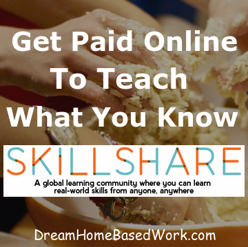 Make Money by Teaching Online With SkillShare | Dream Home